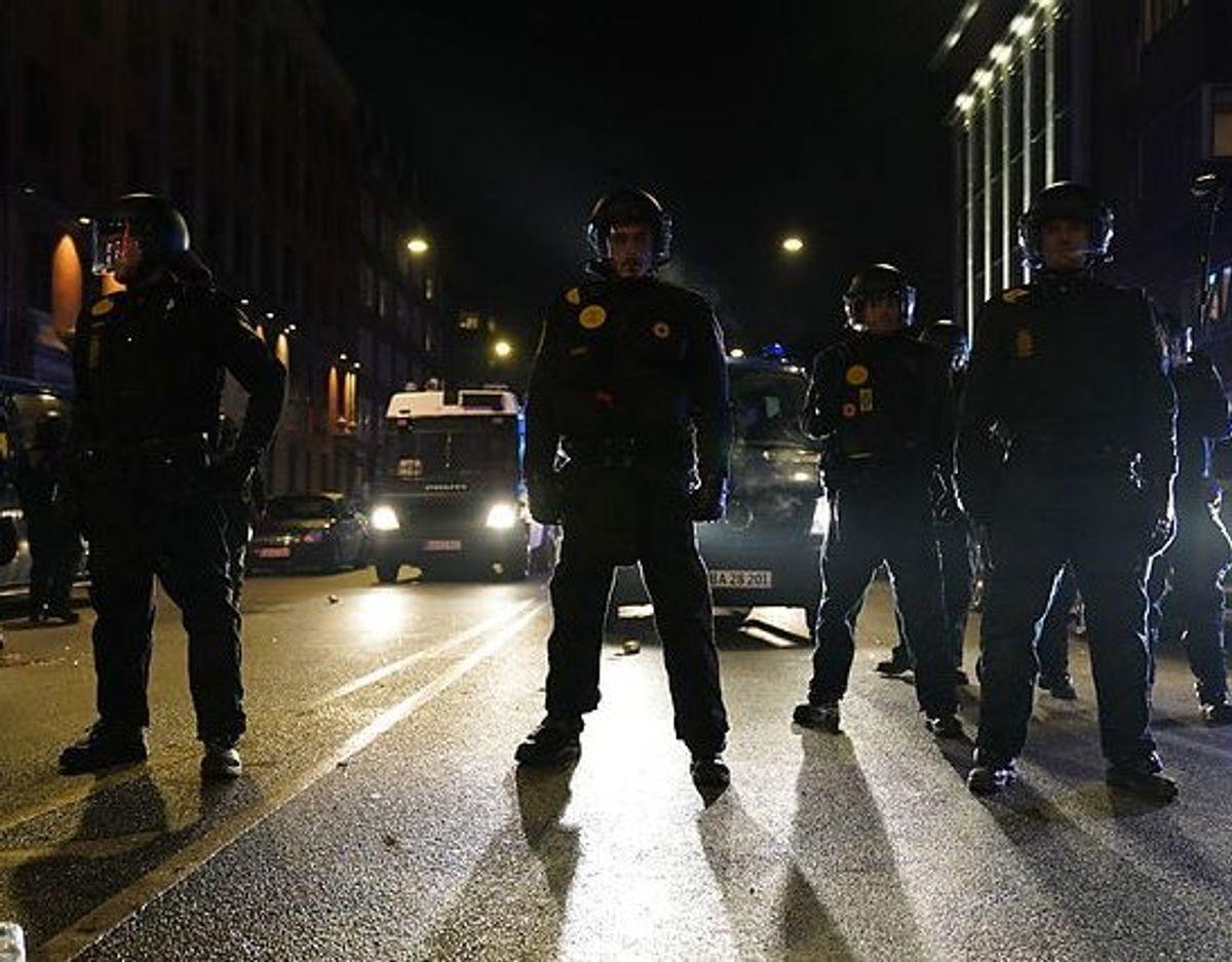 Politiet opløste demonstrationen. Foto: Emil Helms/Ritzau Scanpix