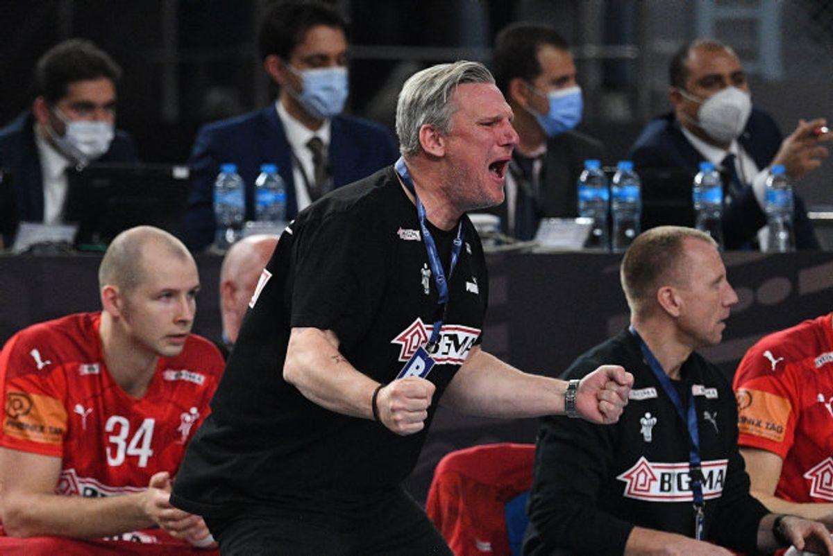 Nikolaj Jacobsen har nu ført Danmark til to VM-titler i træk. Foto: Anne-Christine Poujoulat/AFP