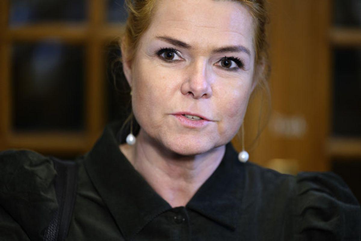 Venstre-toppen vil i næste uge tage stilling til, hvad der skal ske med Inger Støjbergs retsførerordskab. (Arkivfoto) Foto: Philip Davali/Scanpix