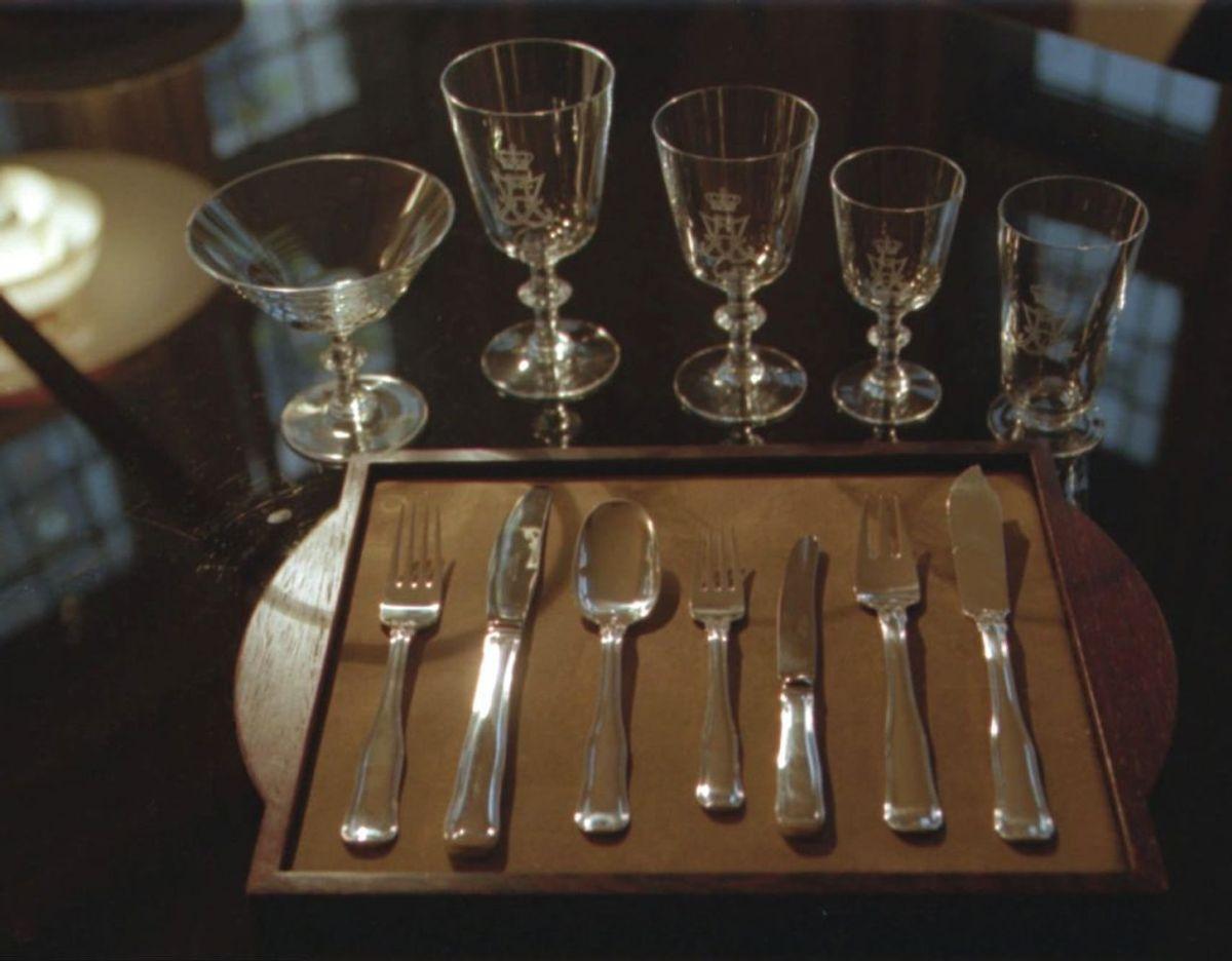 2. Glas, bestik og porcelæn. Foto: Scanpix