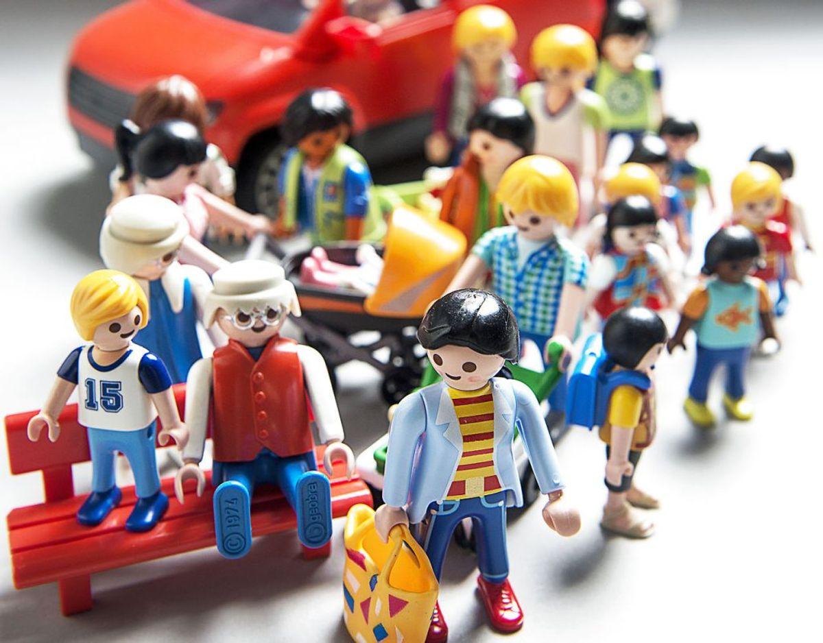 4. Andet legetøj (for eksempel: Hello Kitty, Playmobil og dukkehus). Foto: Scanpix