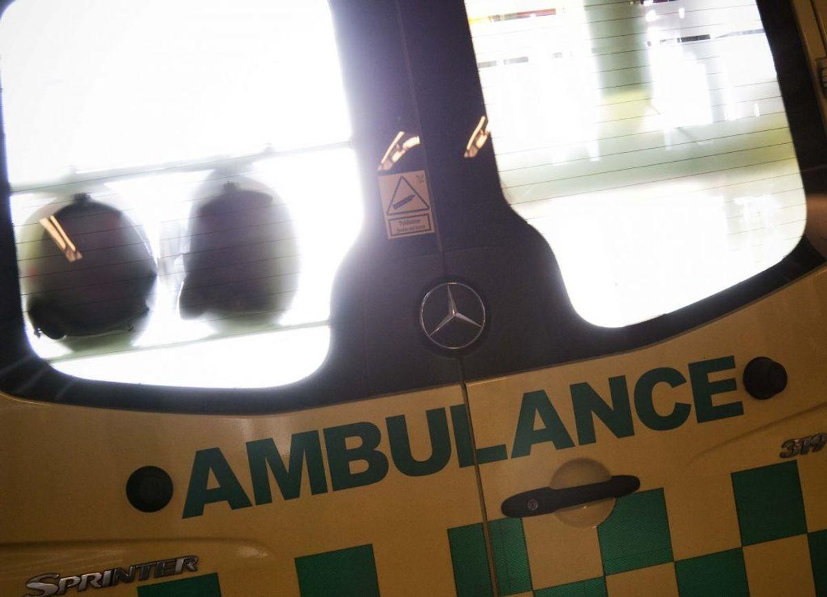 En mand er omkommet i ulykken.