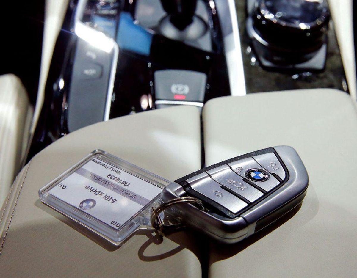 – Antal medfølgende nøgler er ikke oplyst. Foto: Scanpix