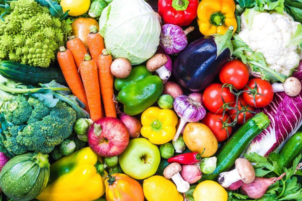 Rå grøntsager. Klik videre i galleriet for flere eksempler. Foto: Scanpix.