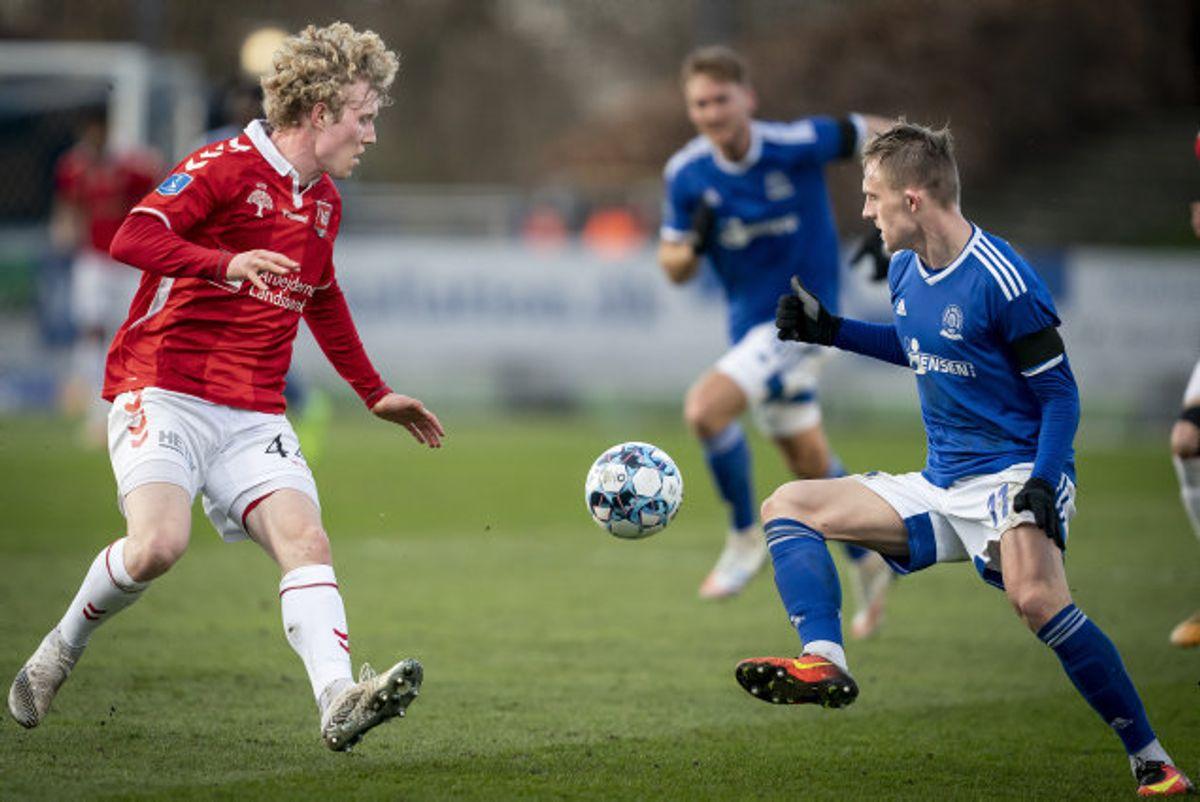 Lyngby missede en oplagt mulighed for at komme nærmere overlevelse i Superligaen. Foto: Mads Claus Rasmussen/Scanpix