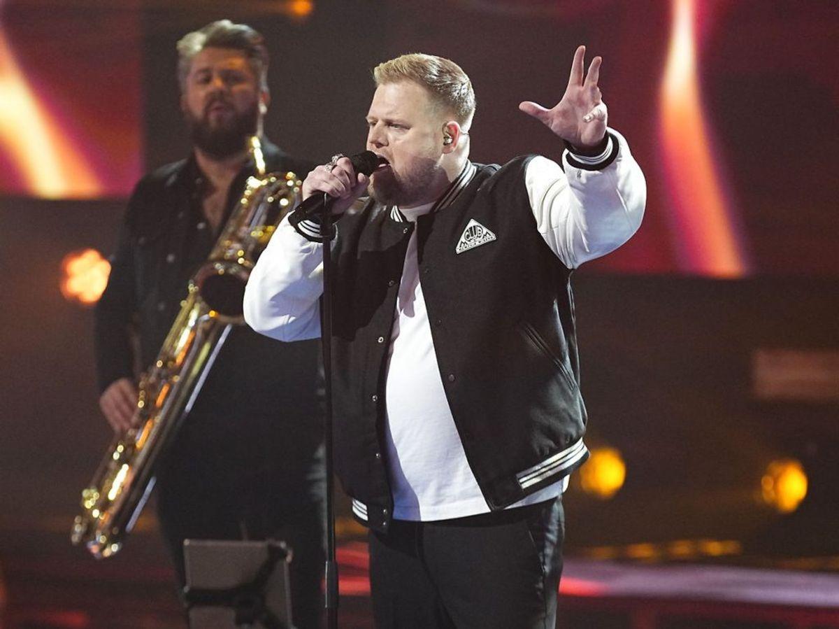 Dan er ude af X Factor. Foto: Martin Sylvest/Ritzau Scanpix