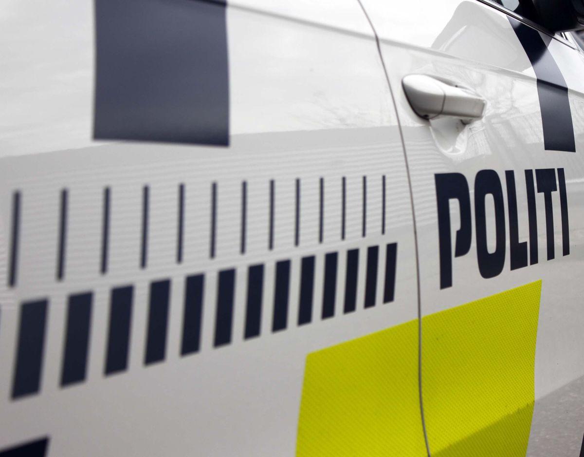 Politiet har haft kontakt til manden en del gange på det seneste. Genrefoto: Elo Christoffersen.
