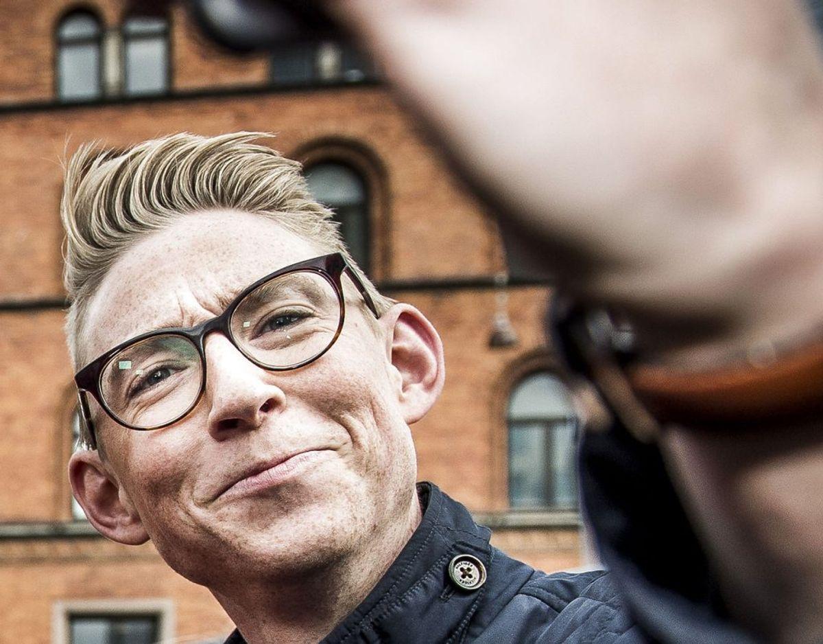 TV-værten Emil Thorup har to gange fået frakendt sit kørekort. Da han mistede kortet anden gang gav han til BT udtryk for, at han håbede, at det var sidste gang, pressen skulle skrive om ham i forbindelse med en sådan sag. Foto: Scanpix.