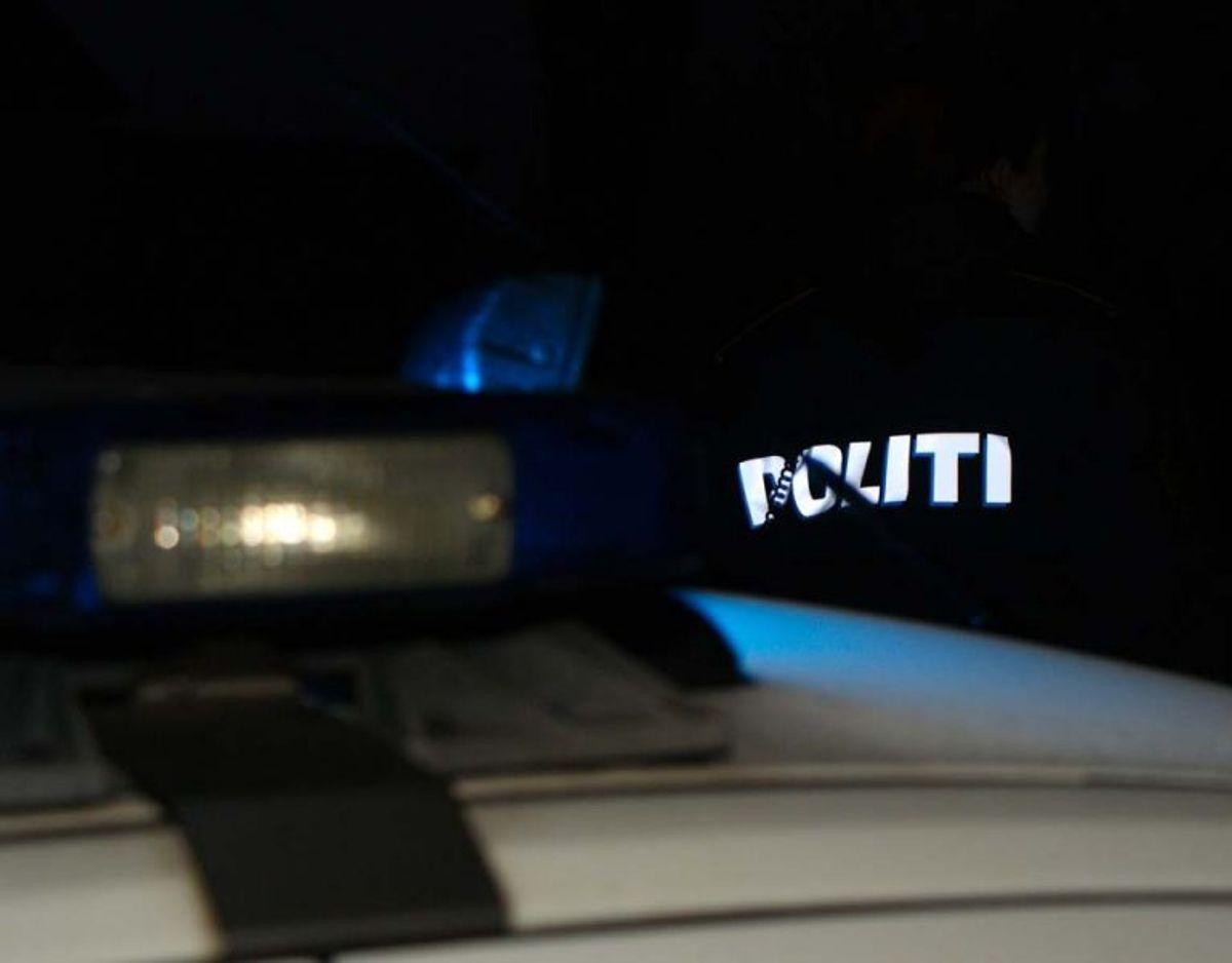 En patrulje blev sendt ud til findestedet. Genrefoto.