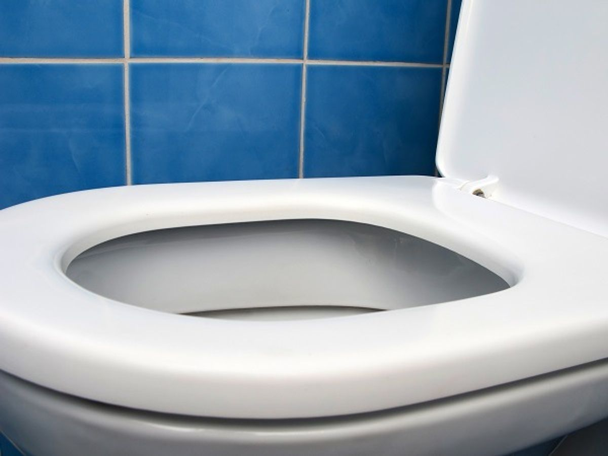 Tjek at din WC-cisterne ikke løber. Arkivfoto.