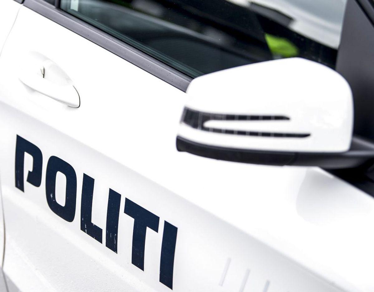 Politiet satte den store jagt i gang, men der var tale om en misforståelse Foto: Mads Claus Rasmussen/Ritzau Scanpix