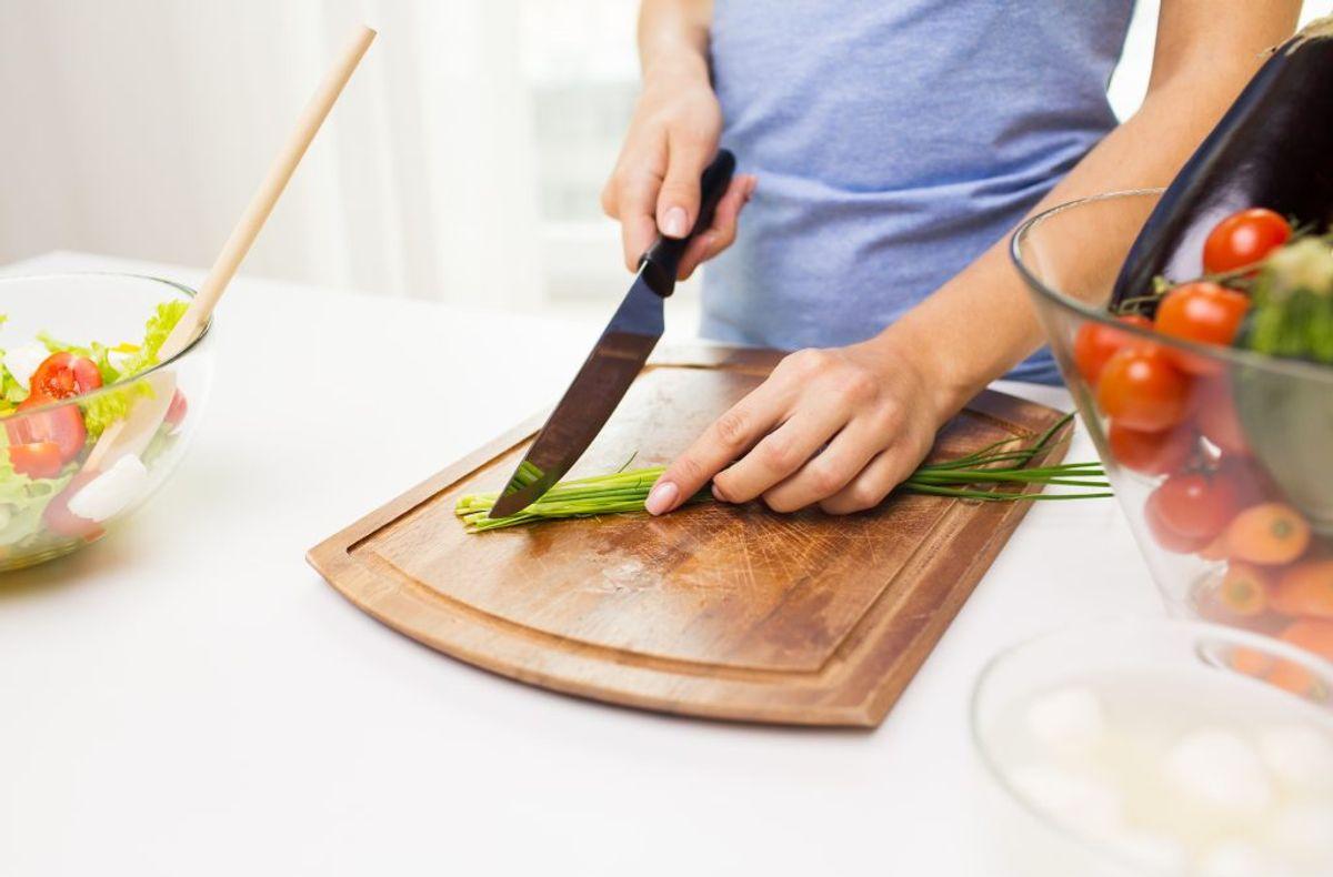 Brug friske og rene råvarer. Kilde: Fødevarestyrelsen. Arkivfoto.
