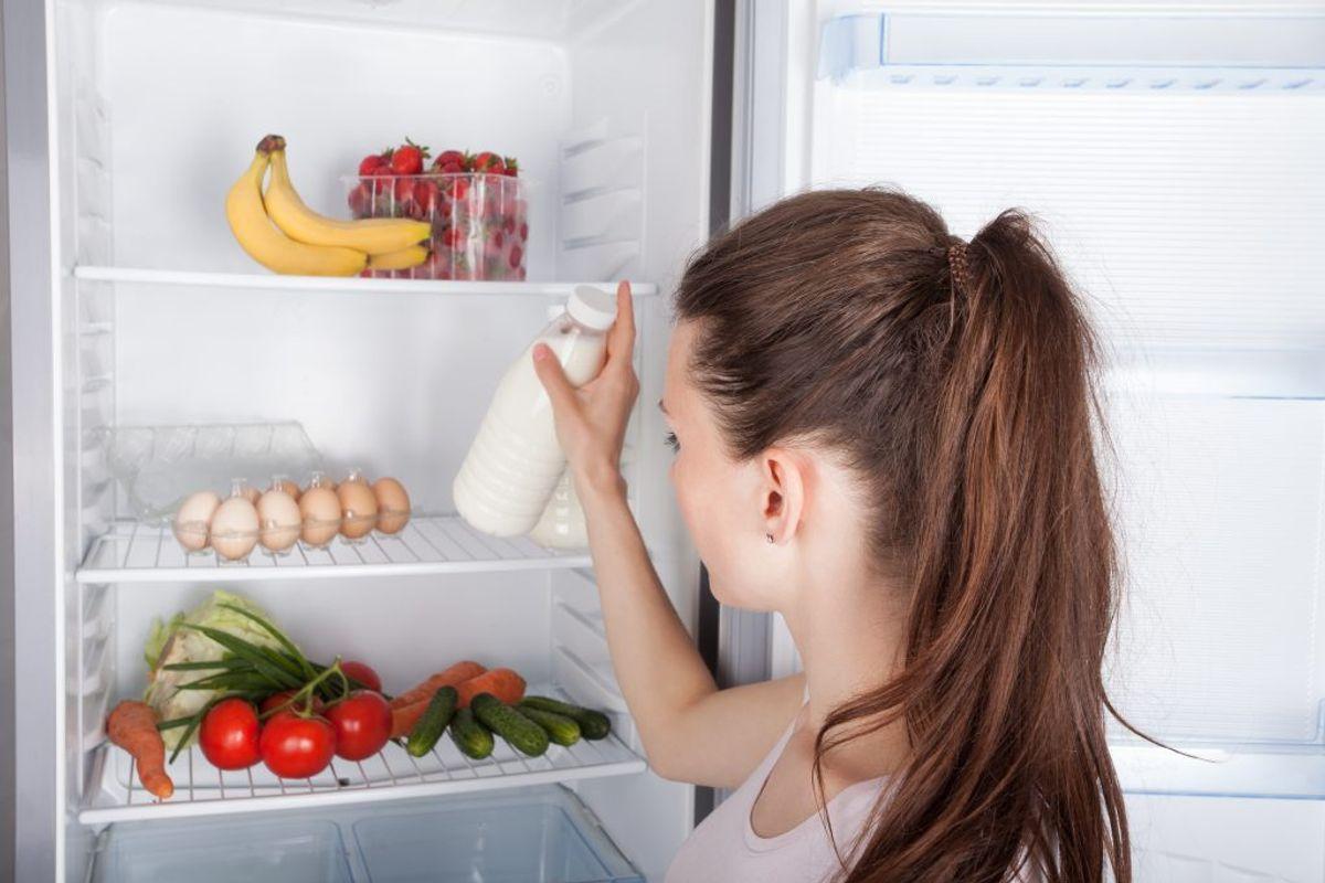 Opbevar rester på køl. Kilde: Fødevarestyrelsen. Arkivfoto.
