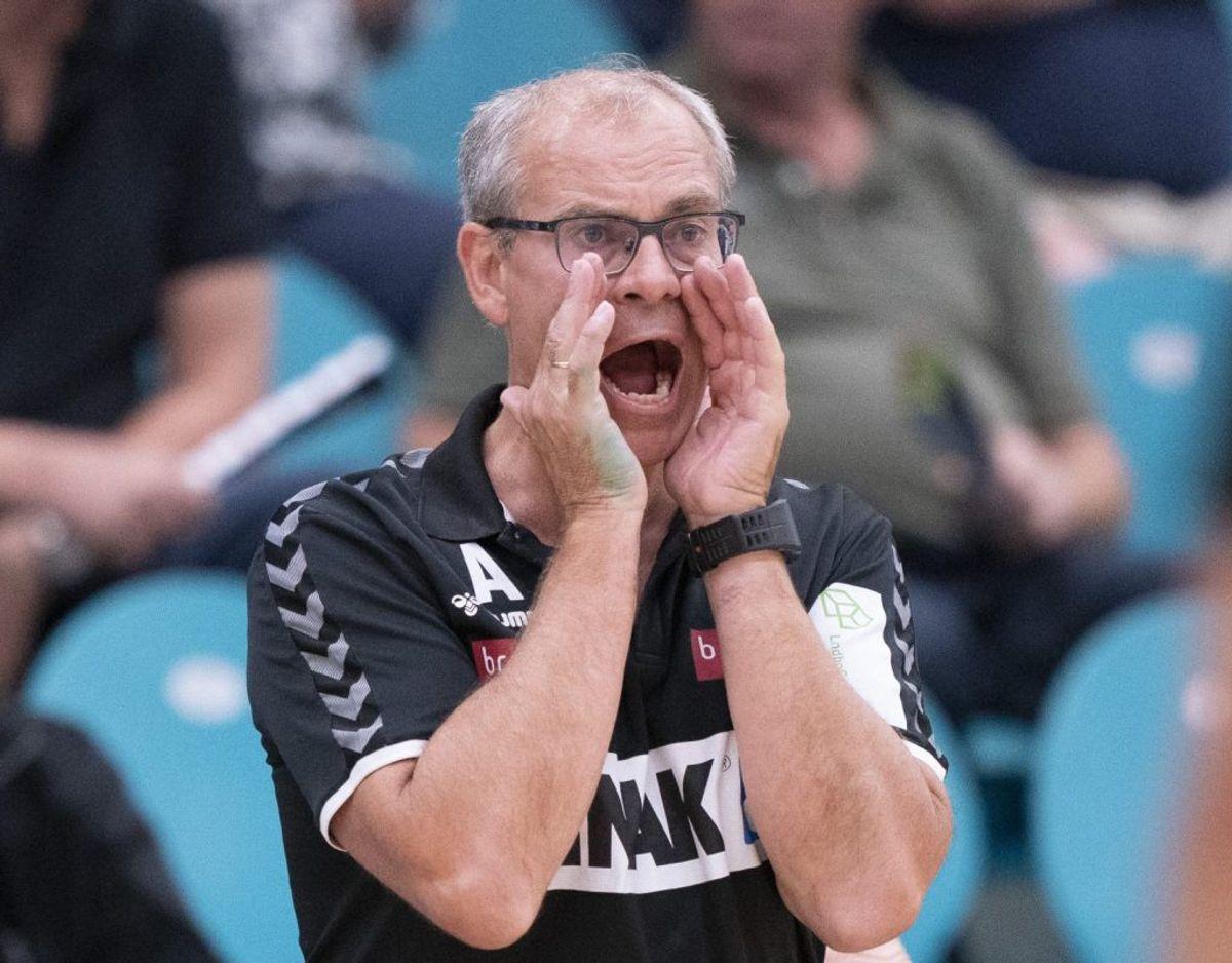 Jan Pytlick blev cheftræner for Sønderjyskes håndboldherrer sidste år. Foto: Claus Fisker/Scanpix
