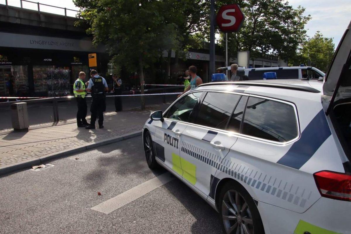 Den 24-årige mand, der blev stukket, var alvorligt kvæstet. Foto: Presse-fotos.dk.