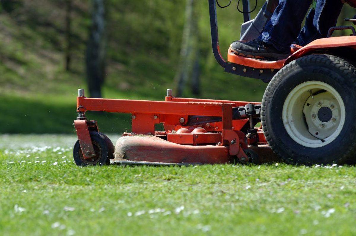 """Du glemmer at """"lufte"""" græsplænen. Med en vertikalskærer kan du sørge for, at din græsplæne kan """"ånde"""", og dermed blive sundere. Kilde: Reader's Digest. Arkivfoto."""