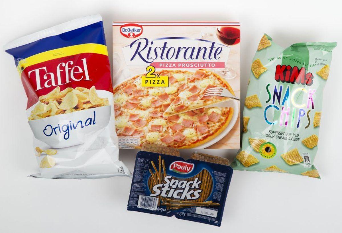 Er der tilbud på chips, kan du roligt købe stort ind. Chips holder sig nemlig glimrende på frost, hvor holdbarheden forlænges markant.  Kilde: Reader's Digest. Foto: Scanpix