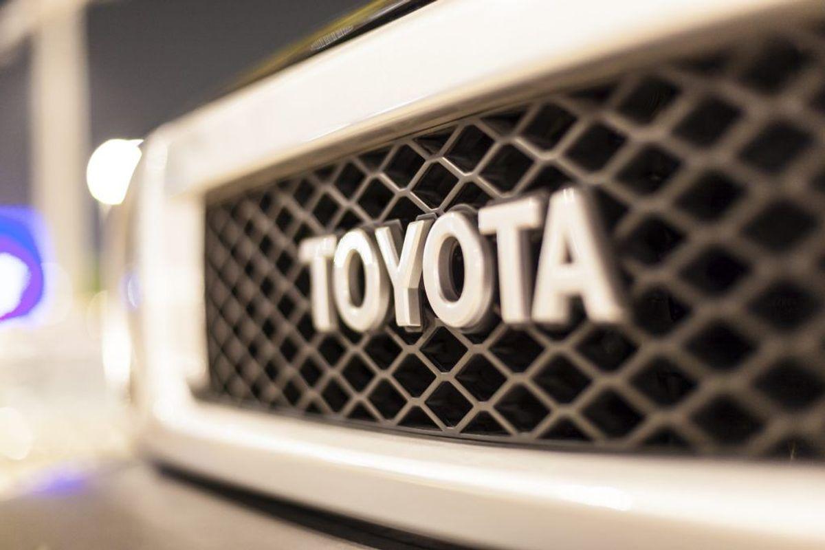 Toyota Sienna. Arkivfoto.