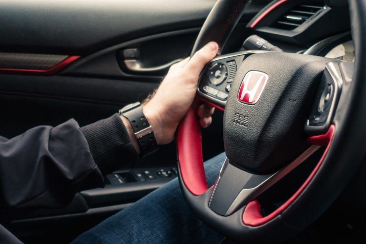 Honda Civic. Arkivfoto.