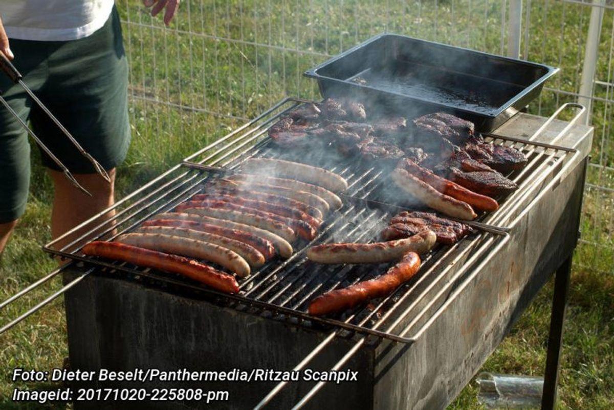 Grillpølser kaldes tilbage. Der er fundet ethylenoxid i dem. Foto: Dieter Beselt/Panthermedia/Ritzau Scanpix