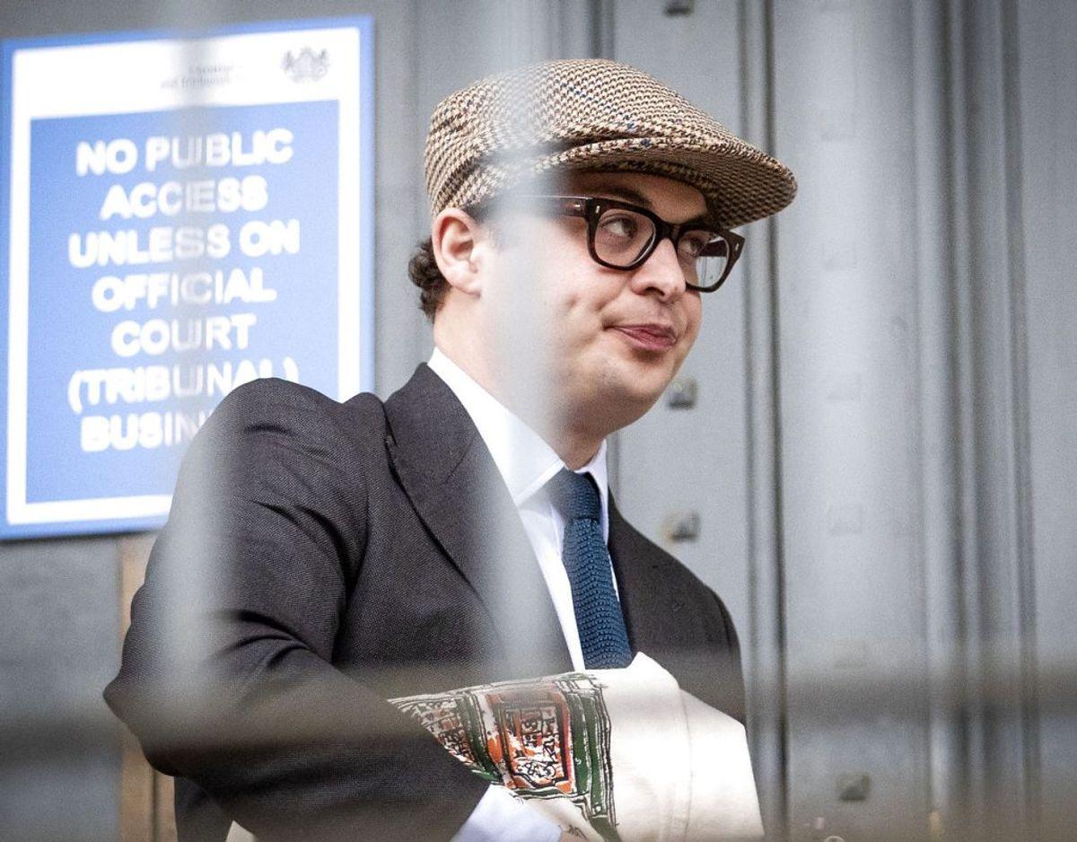 Simon Bowes-Lyon er idømt ti måneders fængsel. KLIK FOR MERE. Foto: Scanpix