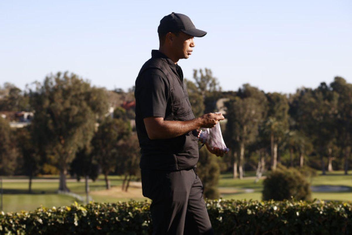 Tiger Woods er indlagt på et hospital i Los Angeles. Foto: Ryan Kang/Scanpix