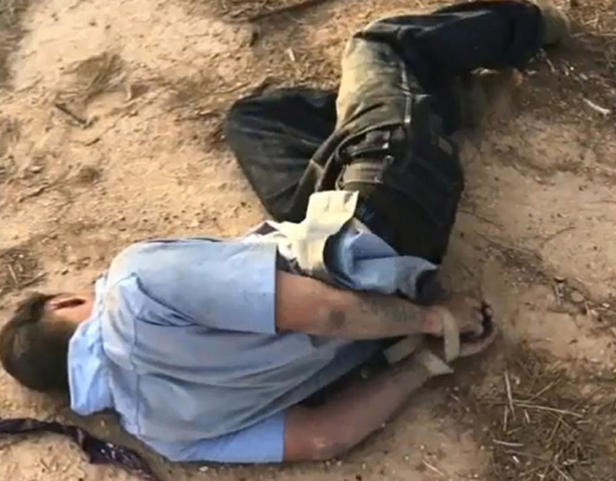 Sådan blev Brandon Soules fundet. Klik for mere. Foto. Coolidge Police Department