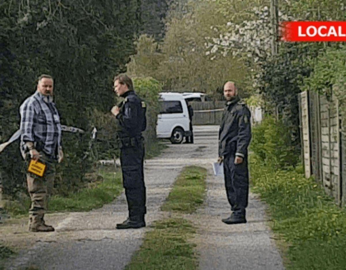 Efter det første grundlovsforhør i sagen blev et sommerhus i Tisvildeleje ransaget. Foto: Local Eyes.