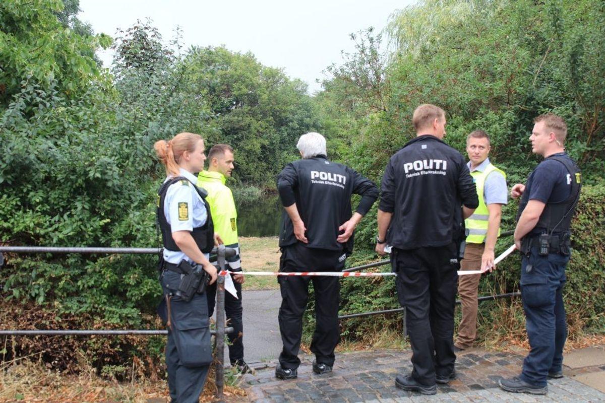 Manden blev fundet død i vandet ud for Christmas Møllers Plads. Foto: Scanpix