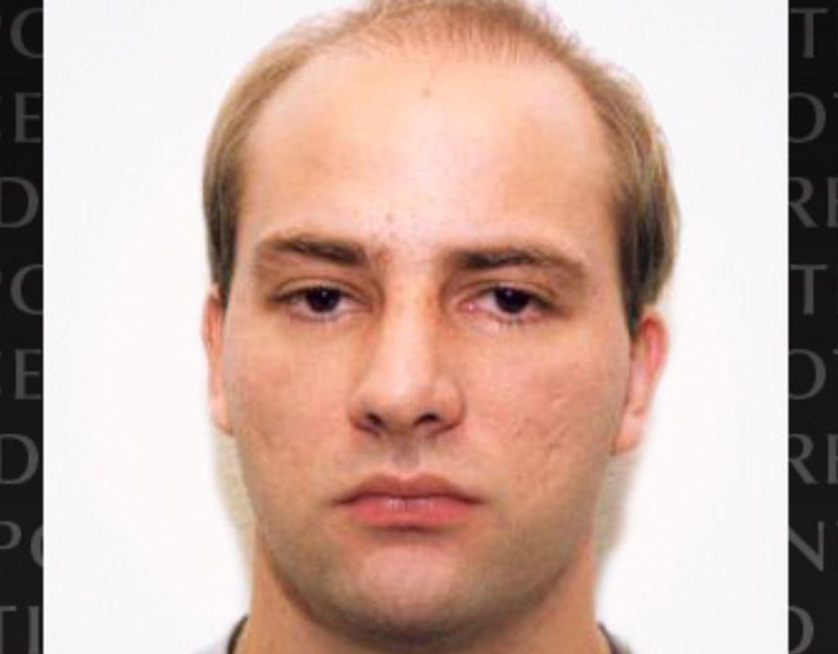 Norman Volker Franz, 51-årig tysker og efterlyst. Han har angiveligt fem mord på samvittigheden