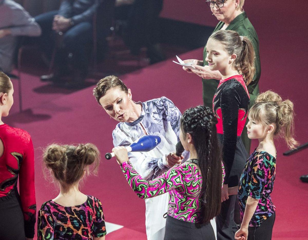 Lise Rønne har før været vært på X Factor. Nu afløser hun sin sygemeldte kollega.  Foto: Michael Drost-Hansen/Ritzau Scanpix