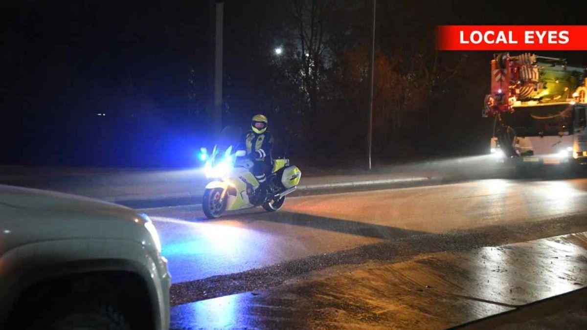 En 45-årig mand er død i en arbejdsulykke i Aalborg. Foto: Local Eyes.