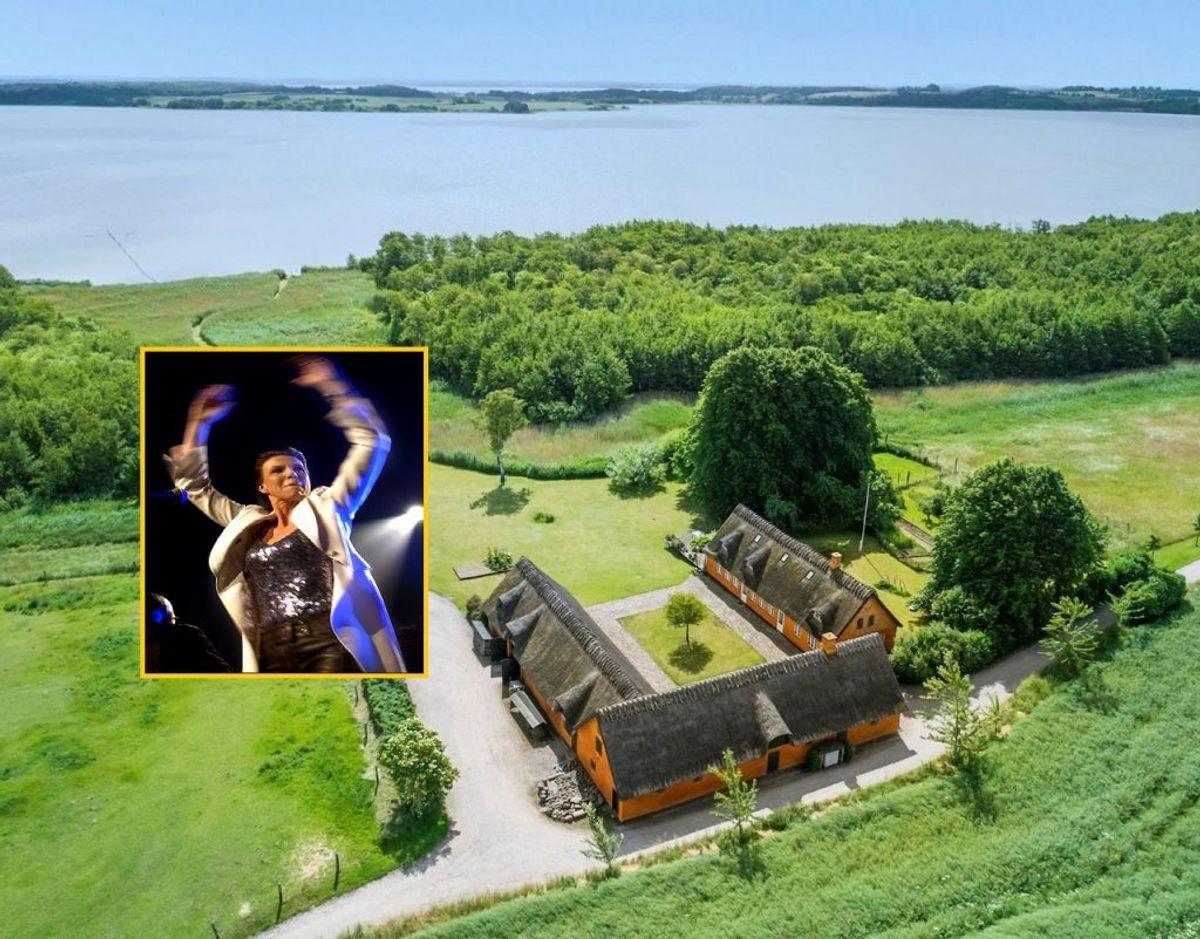 Den danske sangerinde Hanne Boel har solgt sit idylliske landsted i Nordsjælland. Foto: Ivan Eltoft Nielsen/Ritzau Scanpix.