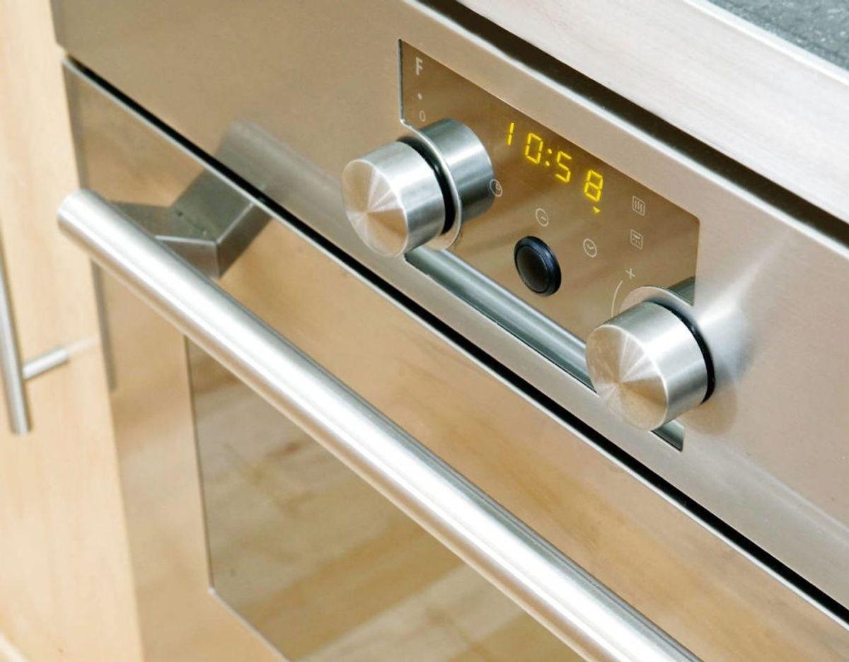 Det samme gælder andre håndtag, hvad enten er der på køkkenskabene eller knapperne på ovnen. Foto: Scanpix/ genre