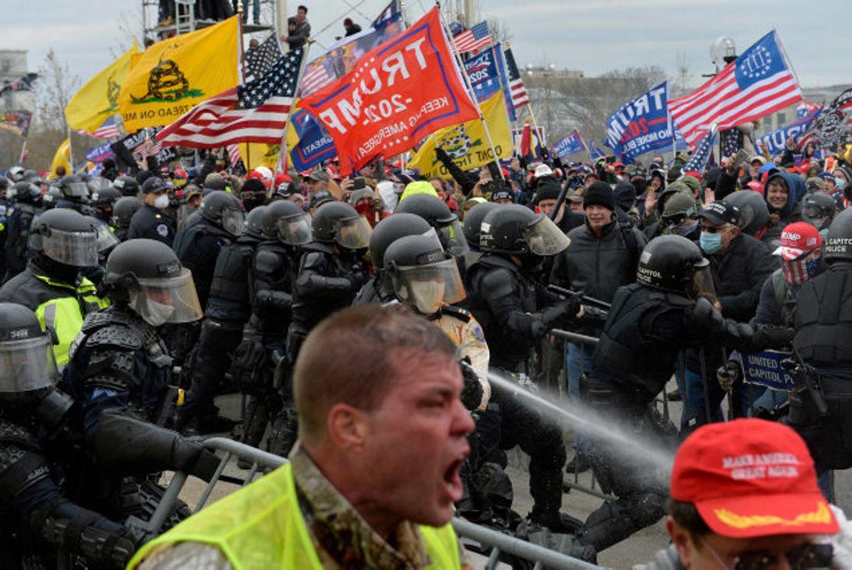 Det kom til voldsomme uroligheder 6. januar uden for USA's Kongres. (Arkivfoto.) Foto: Joseph Prezioso/AFP