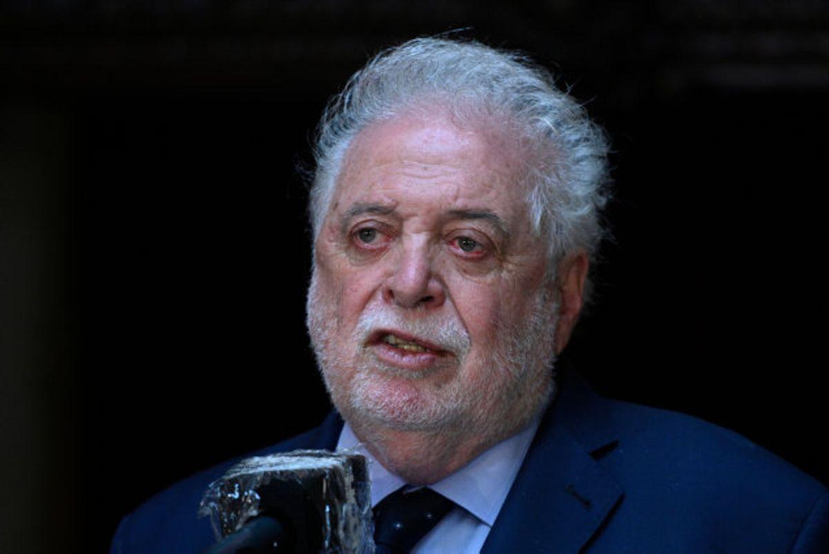 Ginés González García er ikke længere sundhedsminister i Argentina, efter at præsidenten Alberto Fernández bad ham om at træde af. (Arkivfoto) Foto: Juan Mabromata/AFP