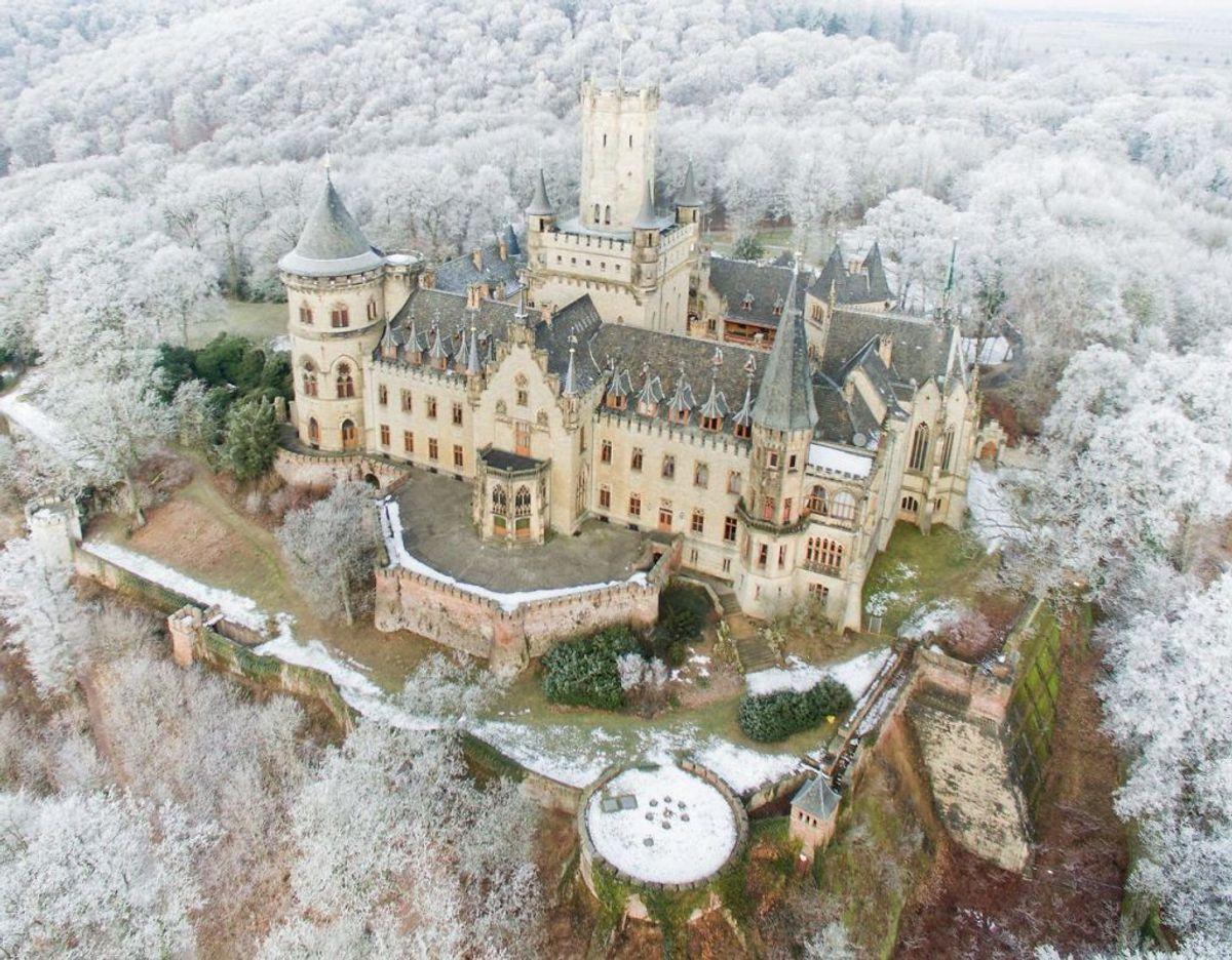 Marienburg Slot står foran en renovation til flere hundrede millioner kroner. Foto: Scanpix