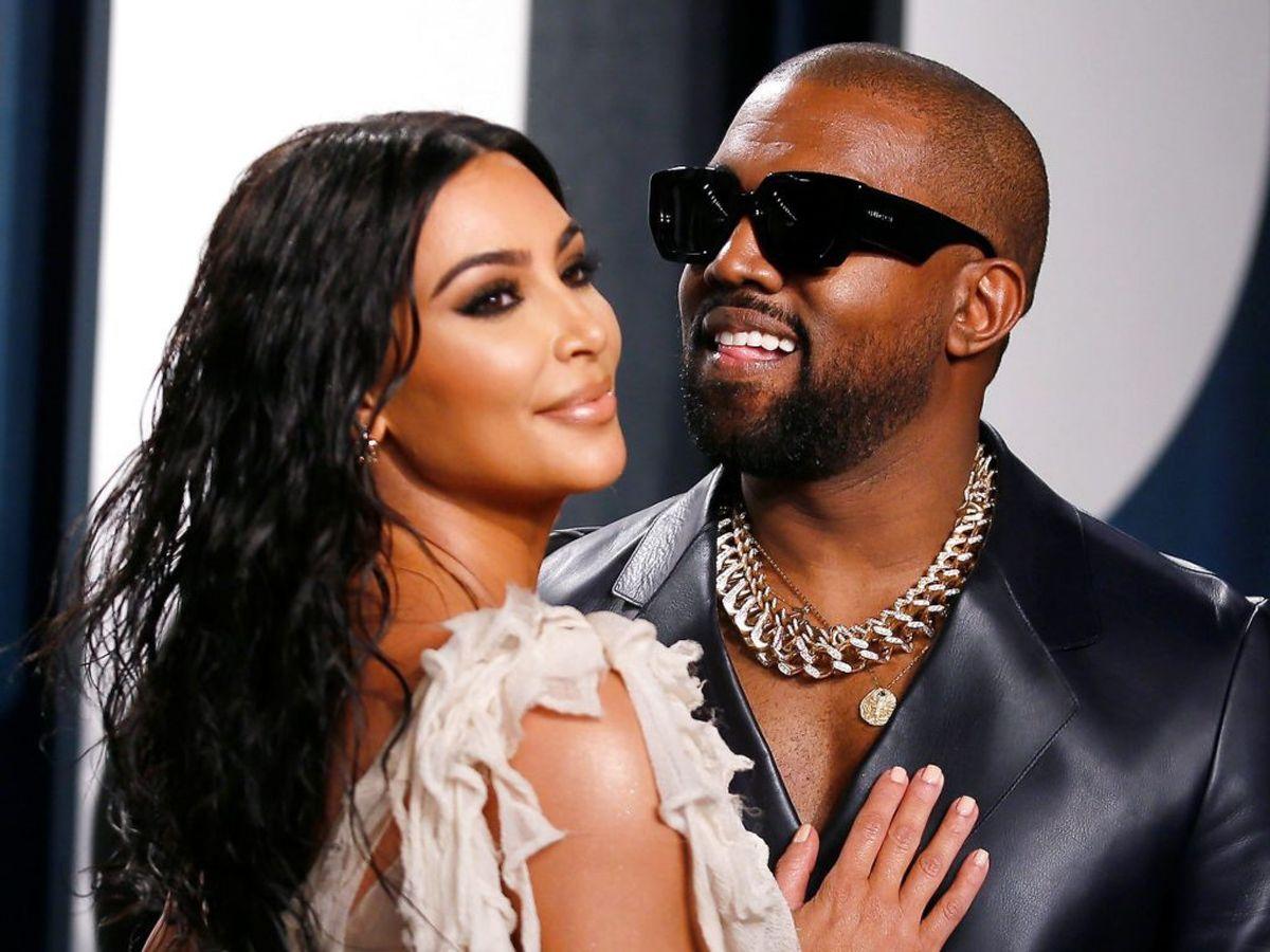 Kim Kardashian og Kanye West skal skilles, skriver flere medier. Foto: Scanpix.