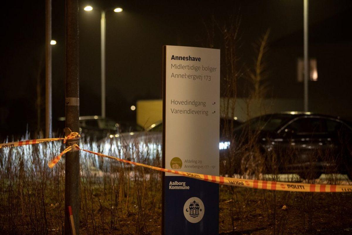 En ung mand blev angiveligt tvunget ind i en bil torsdag aften. Politiet efterforsker episoden. KLIK FOR FLERE BILLEDER FRA STEDET. Foto: Rasmus Skaftved