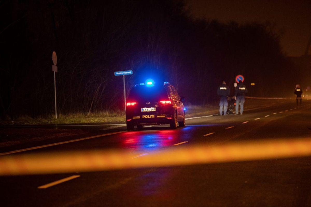 En ung mand blev angiveligt tvunget ind i en bil torsdag aften. Politiet efterforsker episoden. Foto: Rasmus Skaftved
