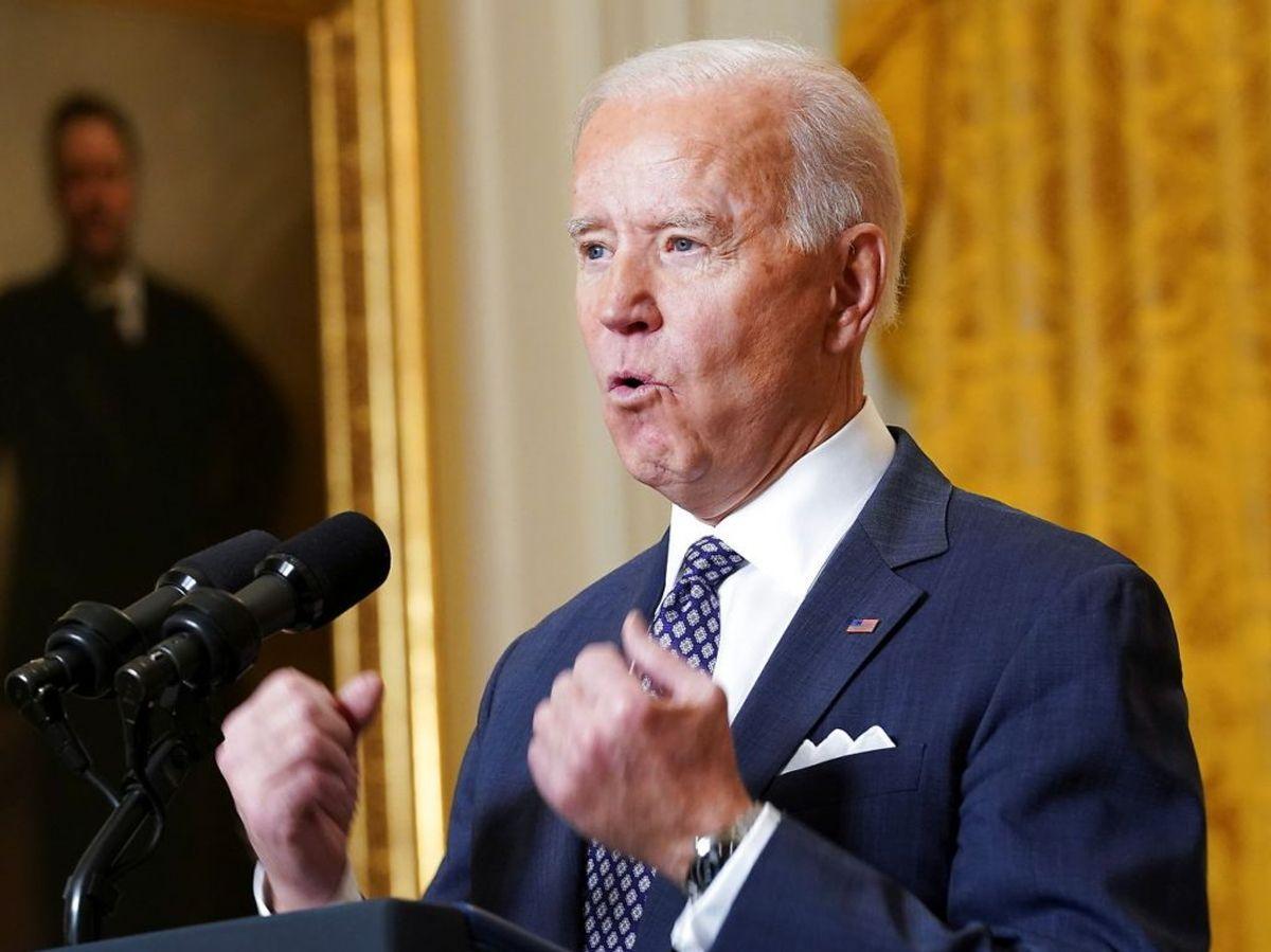 USA er tilbage som Europas allierede, slår Joe Biden fast. Foto: REUTERS/Kevin Lamarque
