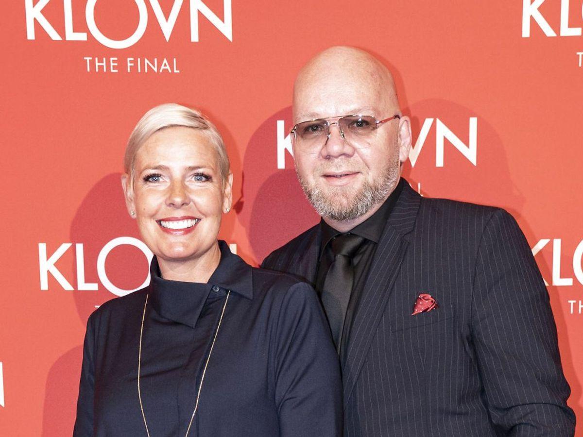 Tina Bilsbo og Lars Hjortshøj har sat deres lejlighed til salg. (Foto: Niels Christian Vilmann/Ritzau Scanpix)