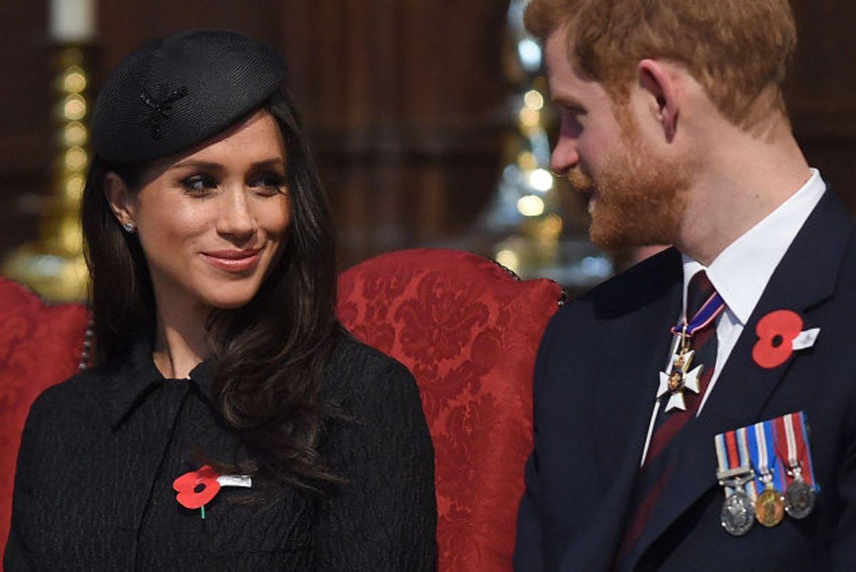 Efter et års tænkepause har Harry og Meghan bekræftet over for dronning Elizabeth II, at de ikke vender tilbage til deres tilværelse som officielle repræsentanter for det britiske kongehus. (Arkivfoto) Foto: Eddie Mulholland/AFP