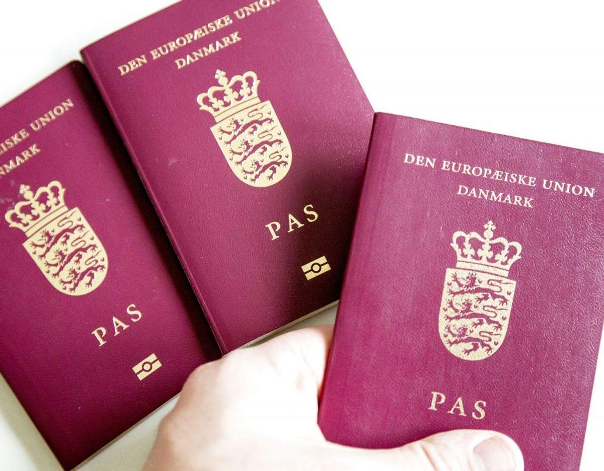 Man rejser på grænsebetjente og flyselskabers nåde, når ens pas' stand skal vurderes. Foto: Scanpix