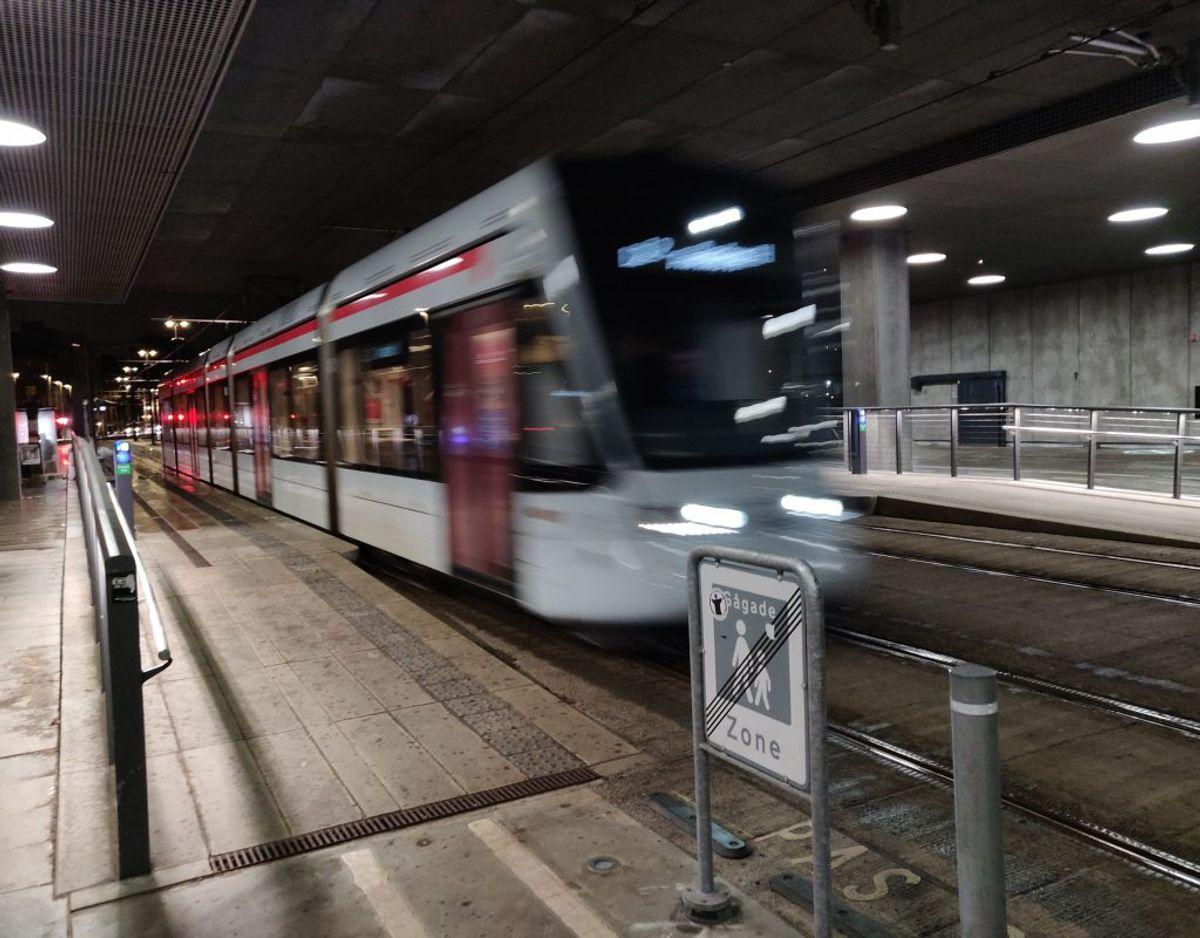 Aarhus Letbane har oplevet driftsproblemer og dermed frustrerede kunder, flere gange i 2021. Foto: Peter Koch