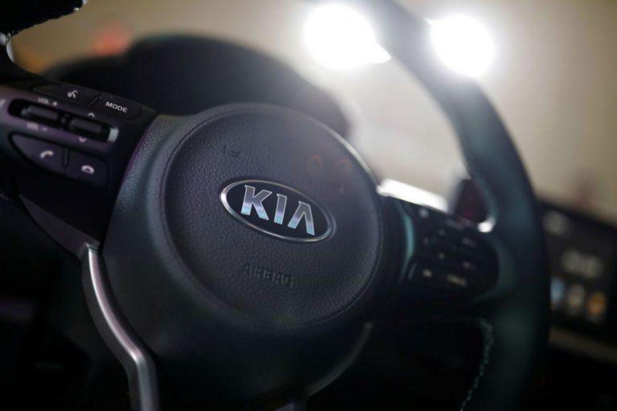 Kia Cee ́d: ligger nummer 5 på listen over biler, der ruster mest. Foto: Scanpix/Kim Hong-Ji
