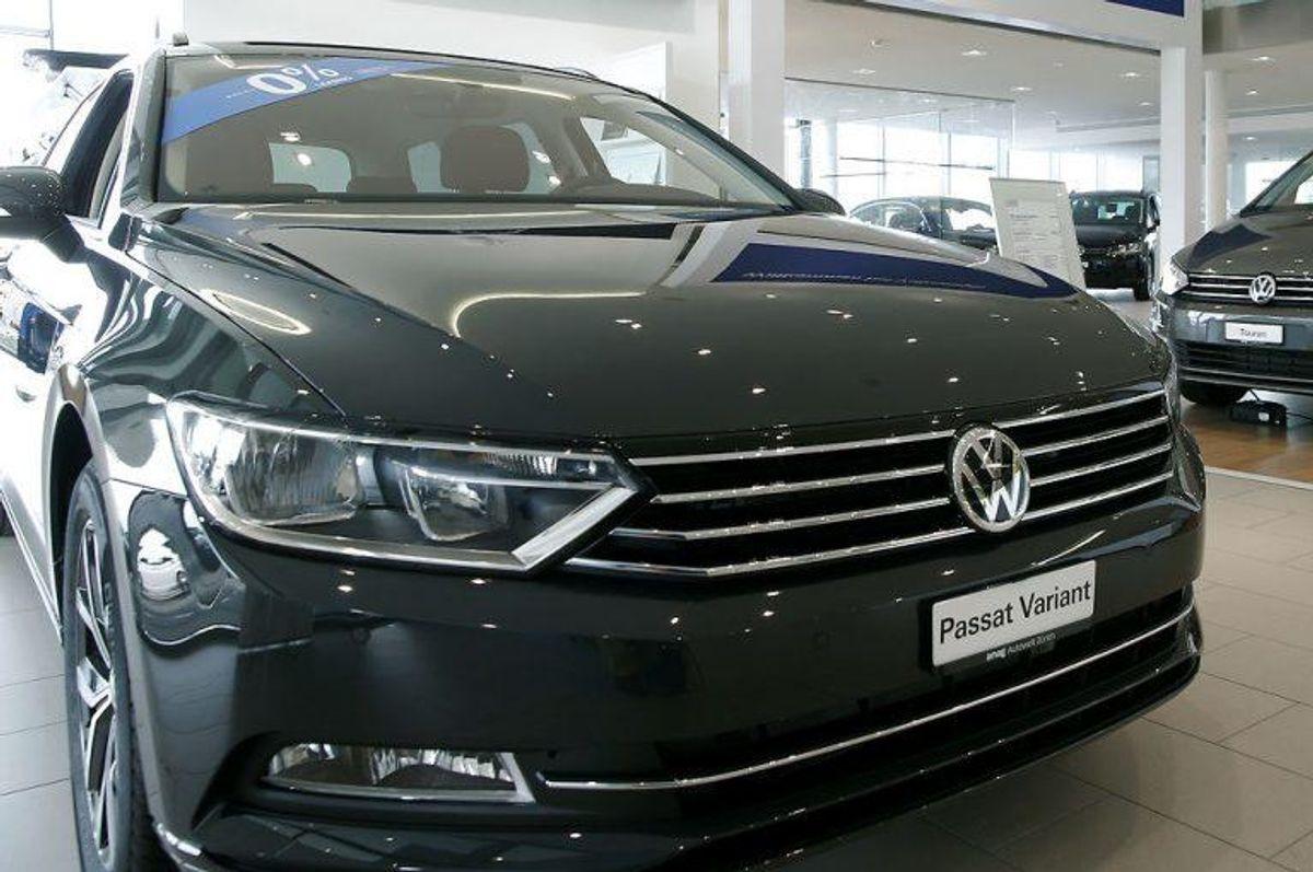 VW Passat er den bil, der ruster mest, ifølge forskerne. REUTERS/Arnd Wiegmann