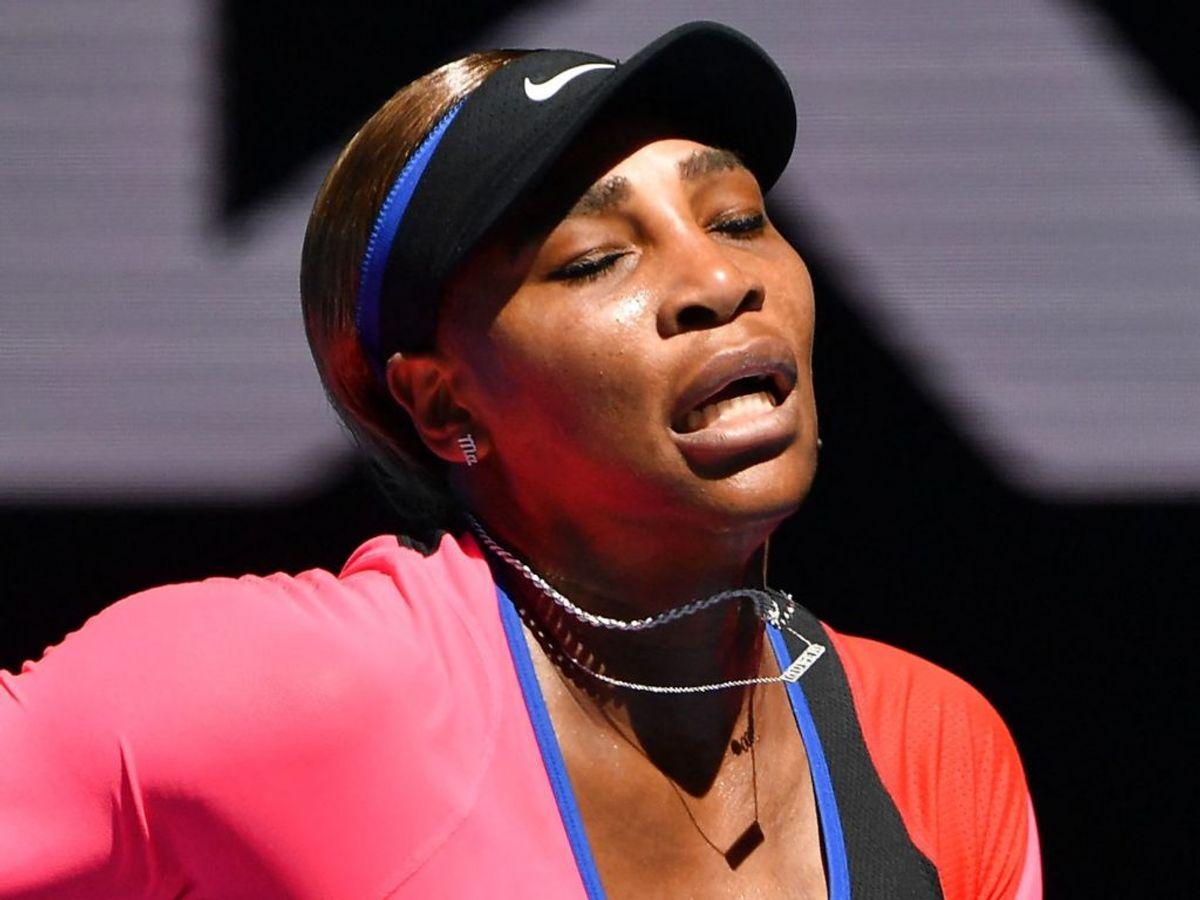 Serena Williams tabte til Naomi Osaka og er ude af turneringen. Foto: (Foto: Paul CROCK/Scanpix),