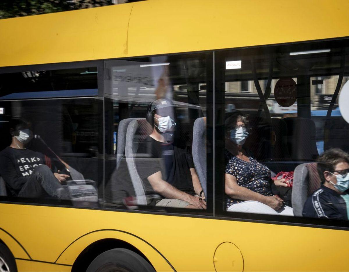23-årig mand blev nægtet adgang til bus og reagerede voldsomt. (Foto: Mads Claus Rasmussen/Ritzau Scanpix)