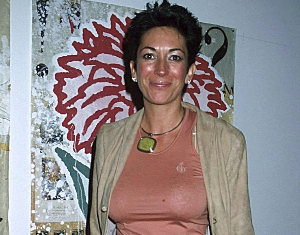 Ghislaine Maxwell før hun røg i fængsel og tabte sig. Foto:  Globe / MediaPunchL /IPX